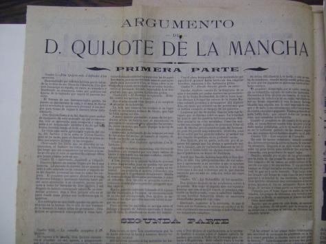 Reverso del cartel del 28 de julio de 1904