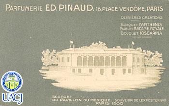 Pabellón de México en la Exposición de París, 1900 (Colección de la Universidad Autónoma de Ciudad Juárez)