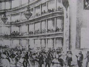 El Teatro Principal en el siglo XIX