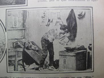 Athernack en El rompecabezas de Juanillo (1919)