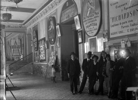 teatro Principal corredor