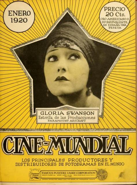 Portada del número de enero de 1920