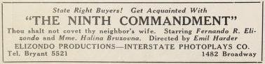 Ninth Commandment, Film Daily, Vol. XII, No. 30A, Apr. 30, 1920, p. 6