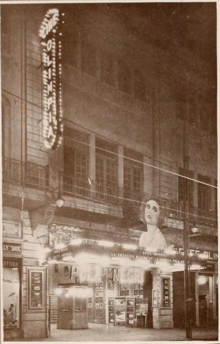 Fotografía publicada en Mensajero Paramount de junio de 1927
