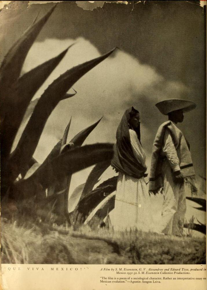 Imágenes de ¡Que viva México! publicadas en Experimental Cinema (1933-1934) (3/6)