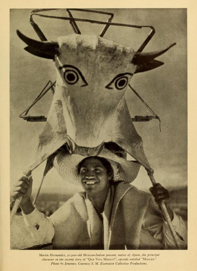 Imágenes de ¡Que viva México! publicadas en Experimental Cinema (1933-1934) (4/6)