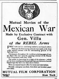 Mexican War and Villa, ad