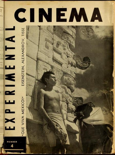 Portada de Experimental Cinema de febrero de 1933