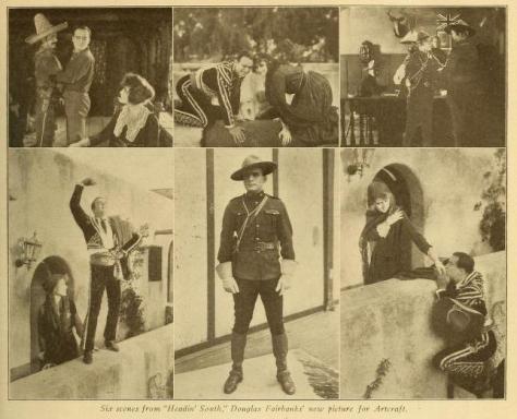 Fotogramas de la cinta publicados en Motography del 9 de marzo de 1918 (Vol. XIX, No. 10, p. 463)