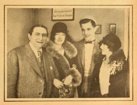 Ernst Lubitsch, Ramón Novarro y
