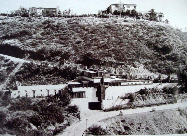 La mansión que Frank Lloyd Wright diseñó para Ramón Novarro