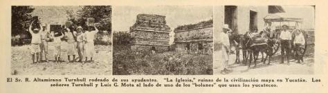 Fotografías que acompañan el artículo publicado en Cine-Mundial de diciembre de 1917 (Vol. II, No. 12, p. 607)