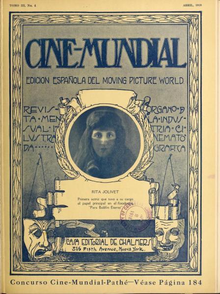 Cine-Mundial de abril de 1918