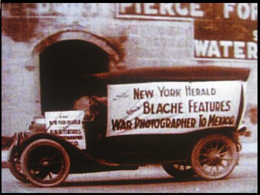 Blaché Features War photographers to Mexico