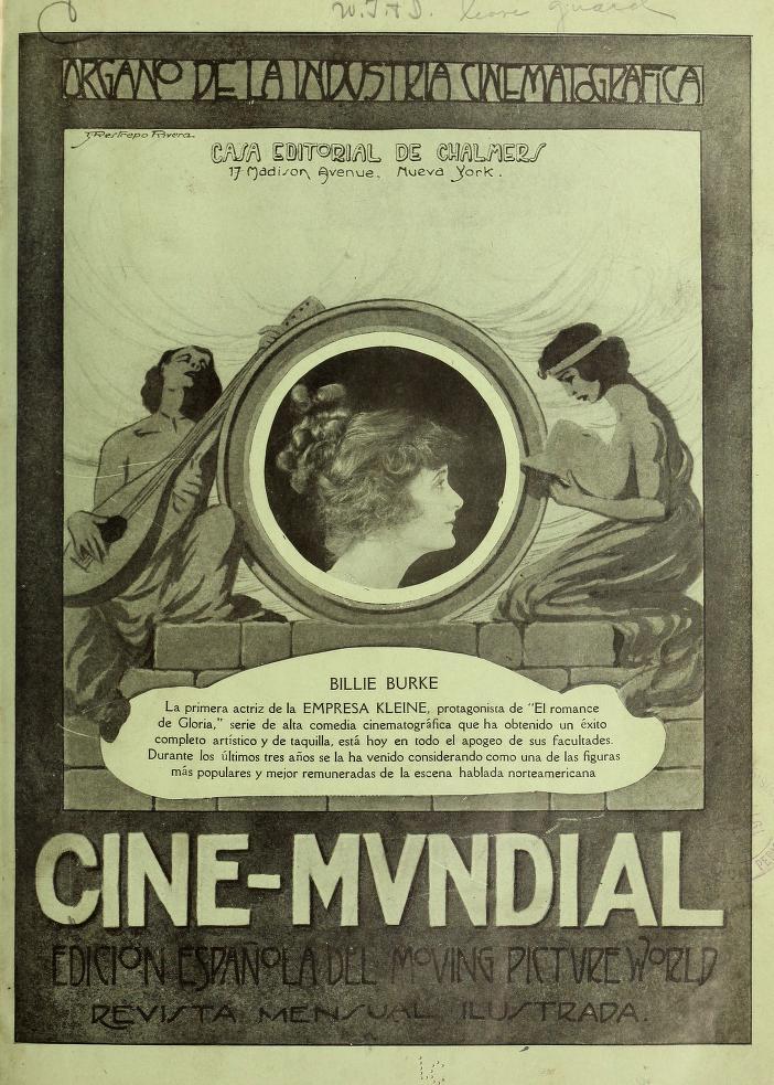 El cinematógrafo en la ciudad de México (1917) (1/5)