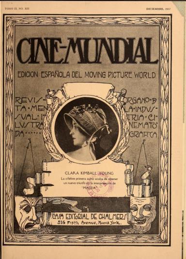 Cine-Mundial de diciembre de 1917