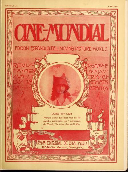Cine-Mundial de julio de 1918