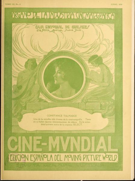 Cine-Mundial de junio de 1918