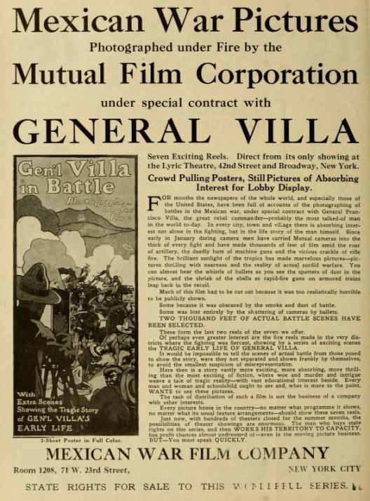 The Moving Picture World del 18 de julio de 1914 (Vol. XXI, No. 3, p. 384)