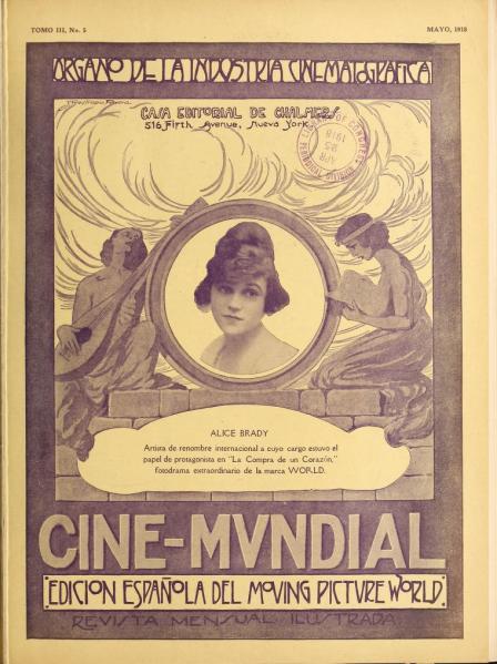 Cine-Mundial de mayo de 1918