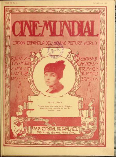 Cine-Mundial de noviembre de 1918