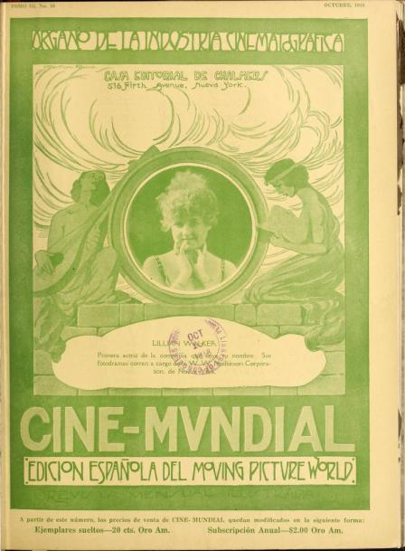 Cine-Mundial de octubre de 1918
