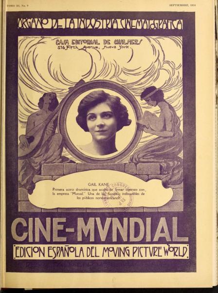 Cine-Mundial de septiembre de 1918