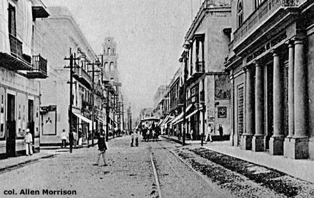 Veracruz circa 1915. Foto: Colección Allen Morrison