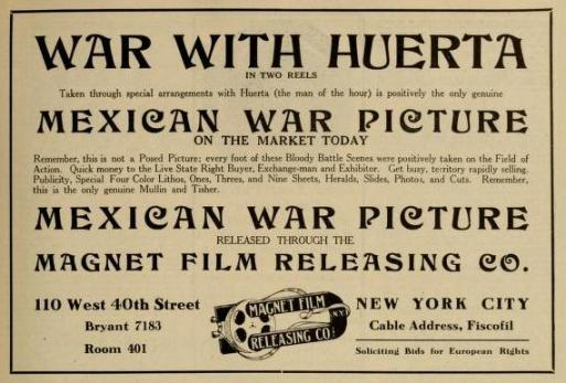 The Moving Picture World del 6 de junio de 1914 (Vol. XX, No. 10, p. 1447)