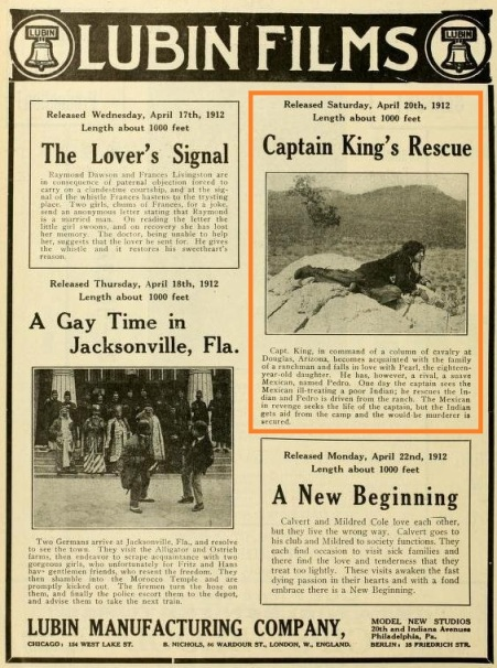 The Moving Picture World del 20 de abril de 1912 (Vol. XII, No. 3, p. 198)