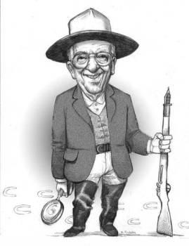 Friedrich Katz según El Fisgón