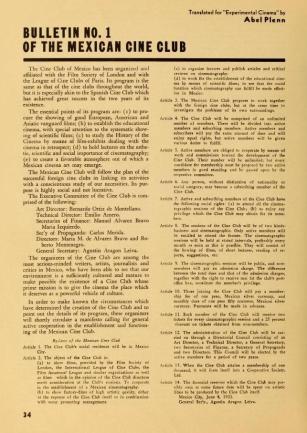 Experimental Cinema No. 4 de febrero de 1933, p. 34