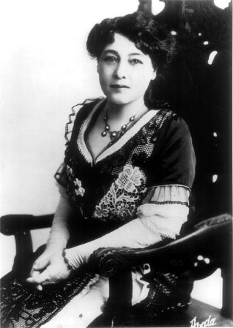Retrato fotográfico de Alice Guy Blaché.