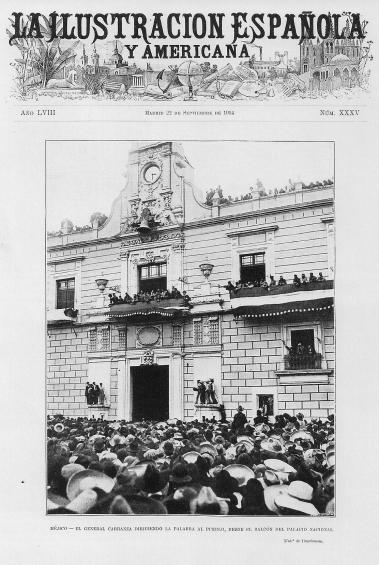 A 238 Carranza se dirige a la multitud (20-VIII-14)