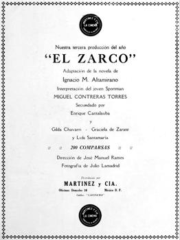 El Zarco en Cine-Mundial oct. 1920