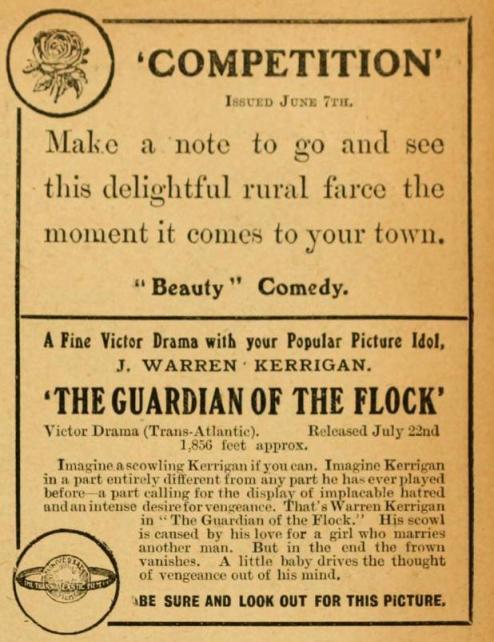 Pictures and the Picturegoer, Vol. VIII, New Series, No. 69, Jun. 12, 1915, p. 199