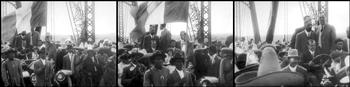 Viaje de Madero de Cd. Juáres a México 1911