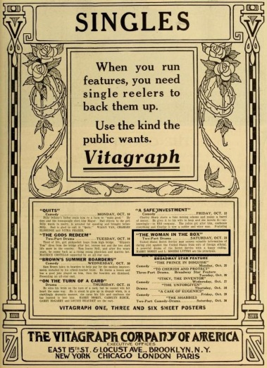 The Moving Picture World del 23 de octubre de 1915 (Vol. XXVI, No. 4, p. 583)
