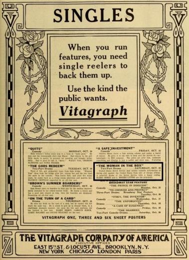 The Moving Picture World del 23 de octubre de 1915 (Vol. XXVI, No. 4, p. 583)