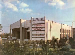 La primera Cineteca Nacional en Calzada de Tlalpan y Río Churubusco
