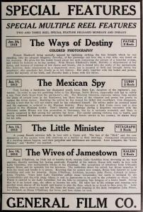 The Motion Picture Story Magazine de febrero de 1913 (Vol. V, No. 1, p. 167)