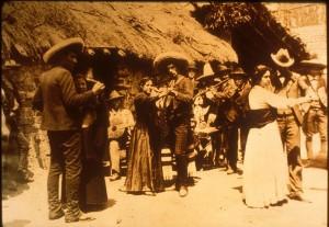 Escena de principios del siglo XX