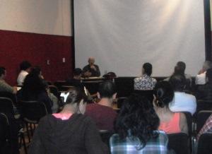El Dr. De los Reyes durante su conferencia. (Foto: Express Zacatecas)