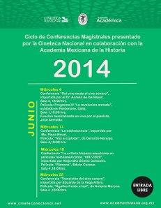 Conferencias magistrales en la Cineteca Nacional, 2014